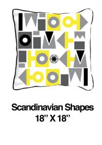 Scandinavian Shapes Yellow (Temporarily Out of Stock)